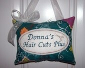 Personalized Hairdresser mini pillow