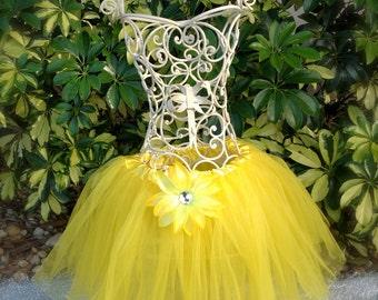 Yellow Tutu, Yellow Tutu Skirt,  Yellow Ballet Tutu, Yelow Child Tutu, Fairy Tutu, Princess Tutu