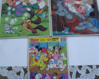 Vintage Minnie 'N' Me, Mickey & Minnie, Disney Babies Puzzles