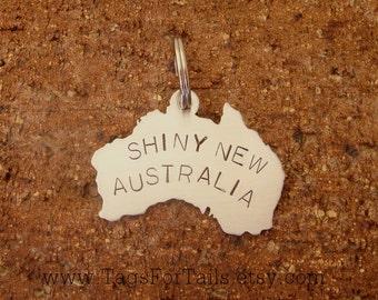 Choose Your Country -Keychain -  Handmade Artisan Custom Charm  United States, Australia, UK