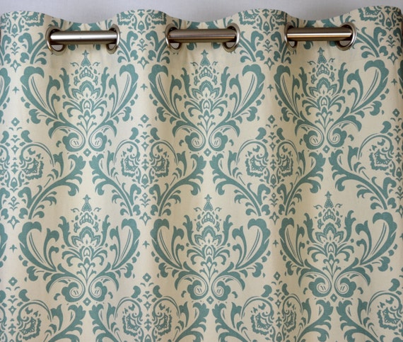 Curtains Ideas Blue Damask Inspiring Pictures Of