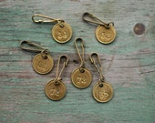 Brass Numbered Key Tag
