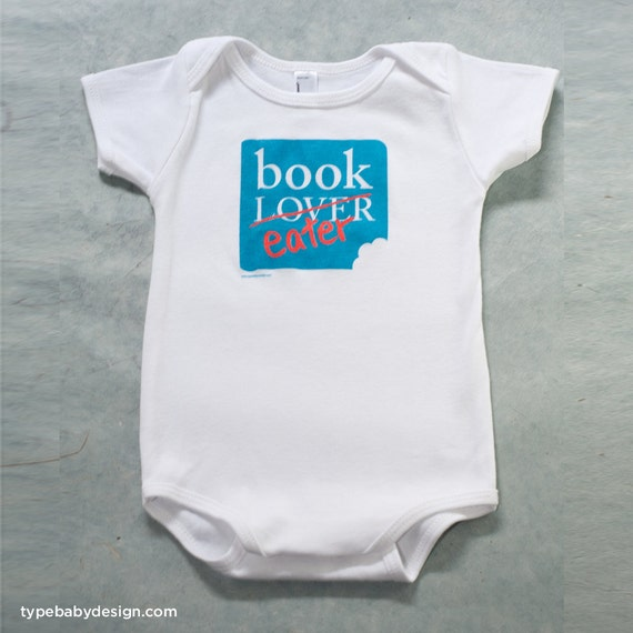 Book Eater infant bodysuit
