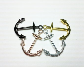 1PC Vintage Style Anchor Pendant - You Choose Color