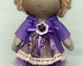 Handmade ooak art doll Anastasia . look at her you will love