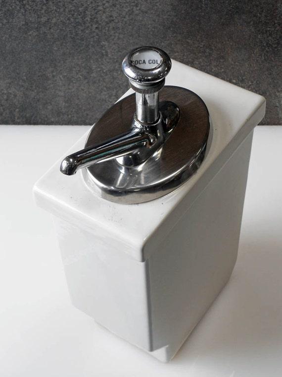 Vintage Coca Cola Soda Fountain Syrup Dispenser