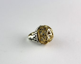 Geodome Poison Ring