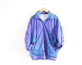 Vintage Olympus Purple Shell Jacket