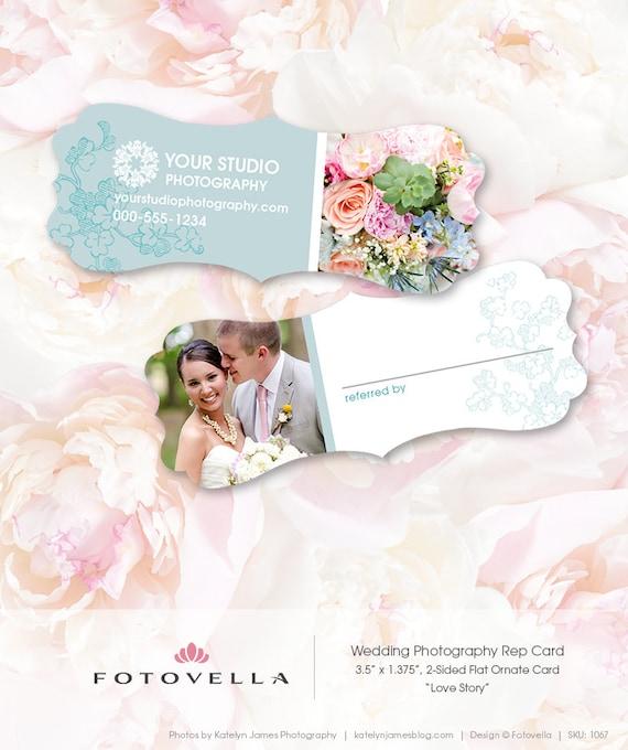 wedding photography marketing referral card template by With wedding photography marketing