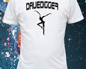 Screen Printed Dave Matthews Band 'DaveDigger' Firedancer T-shirt Ships Free