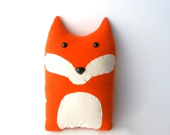 Fox Woodland Forest Plush Stuffed Animal Pillow - Oliver