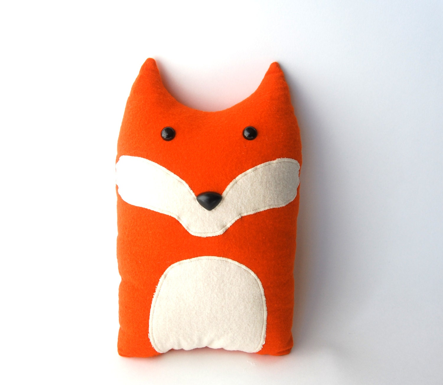 Animal Pillows : Fox Woodland Forest Plush Stuffed Animal Pillow Oliver
