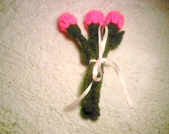 Free Crochet Long Stem Rose Pattern : CROCHET ROSES WITH STEM ? Only New Crochet Patterns