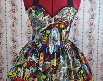 Breakthrough Marvel Comics Avengers Halter Dress