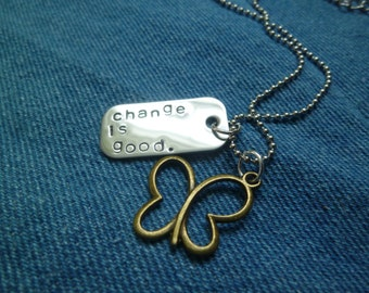 Change is Good Necklace