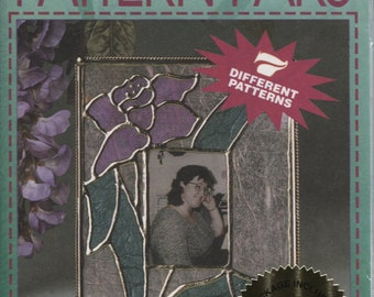 Aleene's All Purpose Craft Pattern Paks, Floral Frames, Stained Glass Patterns