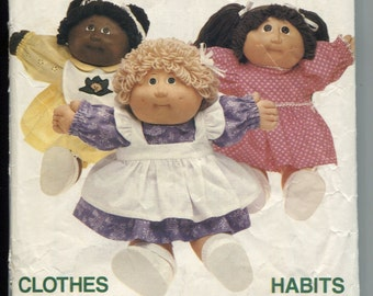 Butterick 6509 Dresses Pattern for Your Cabbage Patch Kids Dolls
