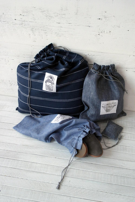 sacs de voyage linge chaussures lingerie fait main. Black Bedroom Furniture Sets. Home Design Ideas