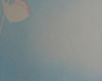 """Charlotte Reine """" Un Jour Sans Vent"""" Original Signed Etching (1982)"""