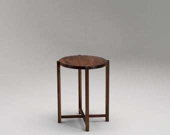 Palafitte Table in Walnut with Solid Wood top