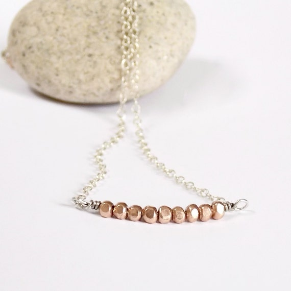 https://www.etsy.com/listing/129373167/nugget-necklace-rose-gold-beads-silver?ref=shop_home_active_6