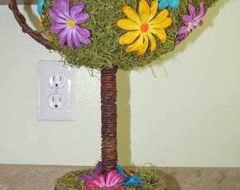 Teapot Topiary Centerpiece