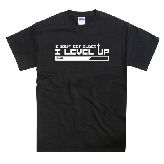 Level Up RPG Birthday Unisex T-shirt