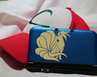 Ninetales Decal for 3DS and 3DSXL