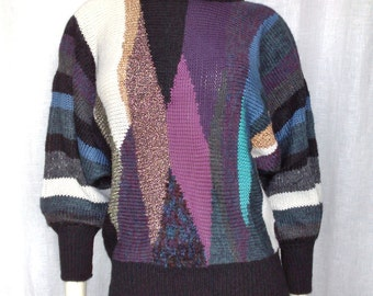 Vintage Avant Garde Abstract Sweater