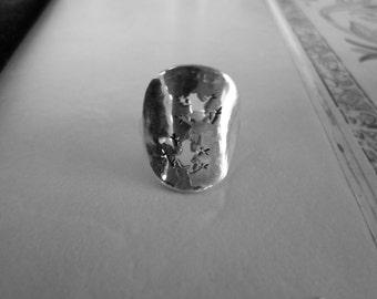 2 frog ring quarter size
