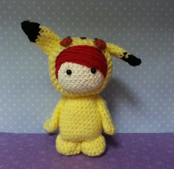 Items similar to Amigurumi Doll as Pikachu on Etsy