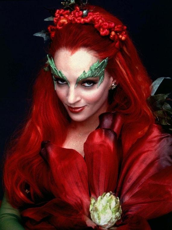 Poison Ivy Batman Comic Costume Poison Ivy Eyebrows Gr...