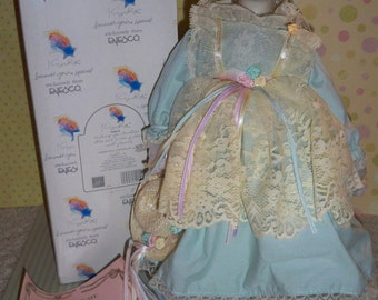 """1990 RARE Limited Edition Kinka Summer Doll by Enesco from the """"Four Seasons"""" Series Mint w/ Original Box"""