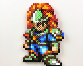 Seiken Densetsu 3 (Secret of Mana) Duran Perler Bead Magnet Super Nintendo