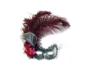 Victoria  Ladies Masquerade Mask  A-0848S-R