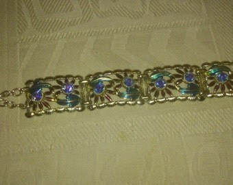 jewelcraft vintage diamante bracelet