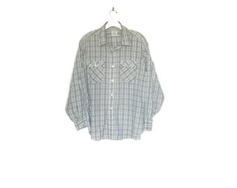 Men's Vintage 80's Levi's Plaid Shirt