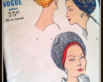 Vogue Hat Pattern  5789