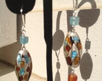 Dangling Four Season Earrings
