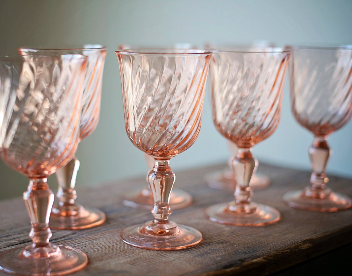 Blush Drinking Glasses