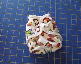 3 Small PUL Pocket Diapers With Gussets--Quantity Discount - Pick Your Fabrics! (write them in note at checkout.)