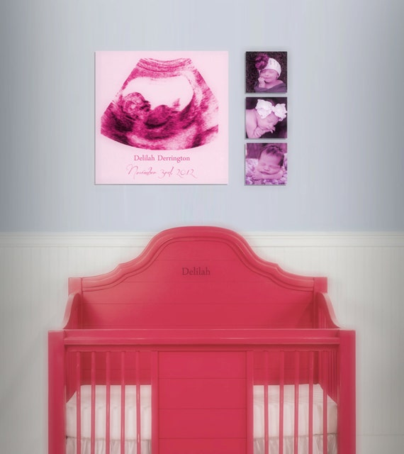 Items similar to baby shower gift ultrasound canvas print for Room decor gifts