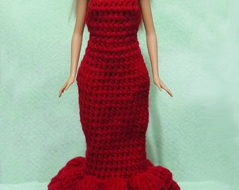 Crocheted Doll Dress 10