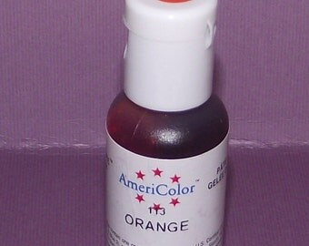 Americolor Gel Paste - Food Color in Orange