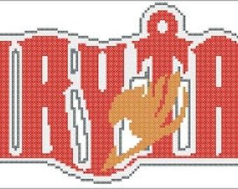 Fairy Tail Anime Cross Stitch PDF Pattern