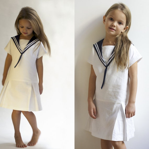 Dress LOTTE - Vintage Edition & De luxe Edition - Sailor Style Dress - Costume de marin fille