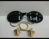 LIMITED EDITION Vintage Gianni Versace Lady Gaga Glasses