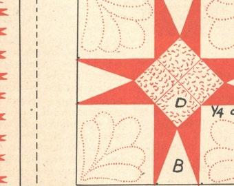 Vintage Pineapple Quilt Pattern PDF Digital Pattern