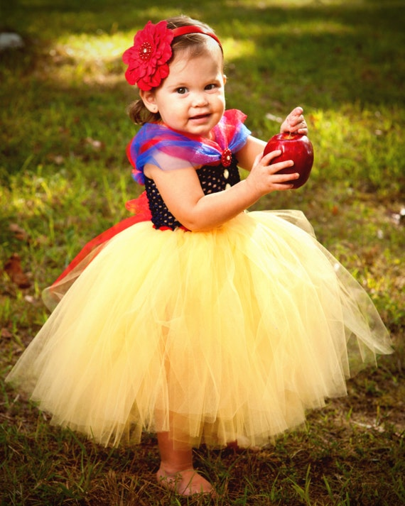 Snow White Costume For Baby Snow White Halloween Costume