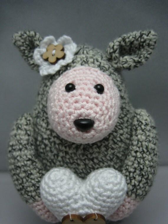 Amigurumi Sheep Doll : Lovely Sheep Instant download Amigurumi doll crochet pattern